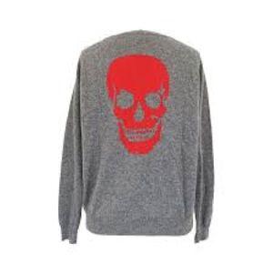 360 Cashmere Skull Sweater